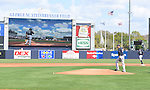 Masahiro Tanaka (Yankees),<br /> FEBRUARY 28, 2017 - MLB :<br /> New York Yankees starting pitcher Masahiro Tanaka walks to the mound before delivering the first pitch in the first inning during a spring training baseball game against the Detroit Tigers at George M. Steinbrenner Field in Tampa, Florida, United States. (Photo by AFLO)