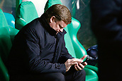 5hh December 2017; Glasgow, Scotland; Hein Vanhaezebrouck head coach of RSC Anderlecht during the Champions League Group B match between Celtic FC and Rsc Anderlecht