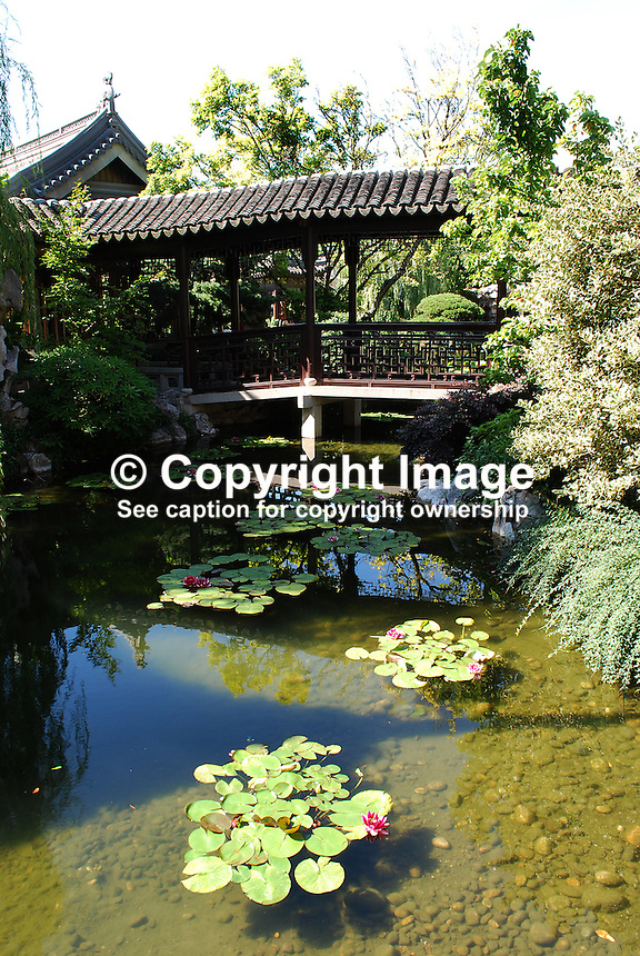 Japanese Garden, Portland, Oregon, 200809040945..Copyright Image from Victor Patterson, 54 Dorchester Park, Belfast, N Ireland, BT9 6RJ...Tel: +44 28 9066 1296.Mob: +44 7802 353836.Email: victorpatterson@mac.com..IMPORTANT: Please go to www.victorpatterson.com and click on my Terms and Conditions of use.