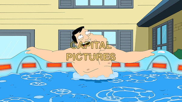 American Dad! (2005 - )<br /> (Season 7)<br /> Stressed (Seth MacFarlane) out by his family and his obligations, Stan decides to buy a hot tub to relieve his stress, but gets into hot water when he finds out the hot tub is evil. &quot;Hot Water&quot;  <br /> *Filmstill - Editorial Use Only*<br /> CAP/KFS<br /> Image supplied by Capital Pictures