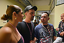 CORAL GABLES, FL - FEBRUARY 22: Justin Quiles backstage before performing at the '2020 Vibra Urbana Music Fest' at Watsco Center on February 22, 2020 in Coral Gables, Florida. ( Photo by Johnny Louis / jlnphotography.com )