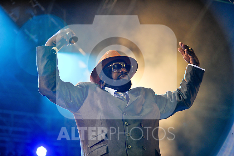 George Clinton during the first day of the 49th Heineken Jazzaldia Jazz festival of San Sebastian, Spain on July 23, 2014
