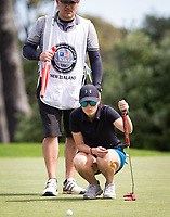 Players during the first round on Sunday at the NZPWG Women's Pro-Am in Memory of Anita Boon, played at the Remuera Golf Course.