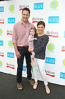 Brady Smith, Tiffani Thiessen and daughter Harper Smith at the 2012 Baby Buggy Bedtime Bash hosted by Jessica And Jerry Seinfeld on June 6, 2012 in New York City. © mpi44/MediaPunch Inc. ***NO GERMANY***NO AUSTRIA***