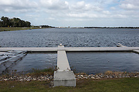 Sarasota, Florida, USA. General view down the Nathan Benderson Park. Rowing Course for the 2017 FISA World Rowing Championships.  Thursday  27/10/2016 [Mandatory Credit; Peter SPURRIER/Intersport Images]
