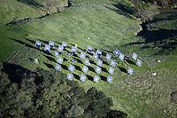 solar panels Mayacamas Mountains Napa Valley California