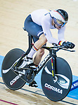 Maximilian Dornbach of Germany competes in the Men's Kilometre TT - Qualifying during the 2017 UCI Track Cycling World Championships on 16 April 2017, in Hong Kong Velodrome, Hong Kong, China. Photo by Chris Wong / Power Sport Images