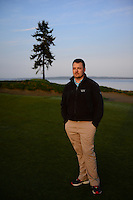 Superintendent Josh Lewis at the Chambers Bay Golf Course in University Place, Washington, which will host the 2015 U.S. Open in June 2015. Photo by Daniel Berman for Golf Course Management Magazine.