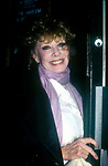 Gwen Verdon on April 12, 1981 in New York City