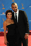 Eva Longoria Parker & Tony Parker at The 62nd Anual Primetime Emmy Awards held at Nokia Theatre L.A. Live in Los Angeles, California on August 29,2010                                                                   Copyright 2010  DVS / RockinExposures