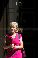Andrea Leadsom MP (Secretary of State for Environment, Food and Rural Affairs).<br />