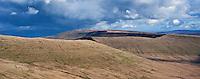 Brecon Beacons mountain landscape, Brecon Beacons national park, Wales