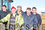 COMPETITION: Looking over the competition at the Artfeert Ploughing Competition on Sunday. Front l-r: Mike Driscoll and Mike Dineen (Causeway). Back l-r: Mike Francis Dineen (Causeway), Tim Mahony (castleisland) and Michael Leen (Causeway)..    Copyright Kerry's Eye 2008