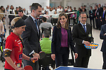 Spanish Royals King Felipe VI of Spain and Queen Letizia of Spain visit  the Paraplegic Hospital in Toledo, Spain. February 10, 2015. (ALTERPHOTOS/Victor Blanco)