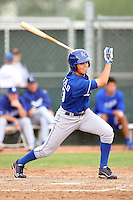 Whit Merrifield - Kansas City Royals - 2010 Instructional League.Photo by:  Bill Mitchell/Four Seam Images..