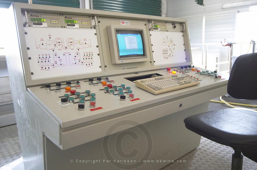 winery control panel le cellier des princes chateauneuf du pape rhone france