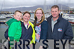 Josh Lynch, Denise Lynch, Bernadette O'Connor, Maurice Dillane, Fenit pictured at the St. Brendan the Navigator Feast Day Family dat at Fenit Pier on sunday.