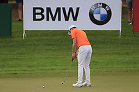 Matthew Fitzpatrick (ENG) on the 15th during the 1st round of the DP World Tour Championship, Jumeirah Golf Estates, Dubai, United Arab Emirates. 21/11/2019<br /> Picture: Golffile | Fran Caffrey<br /> <br /> <br /> All photo usage must carry mandatory copyright credit (© Golffile | Fran Caffrey)