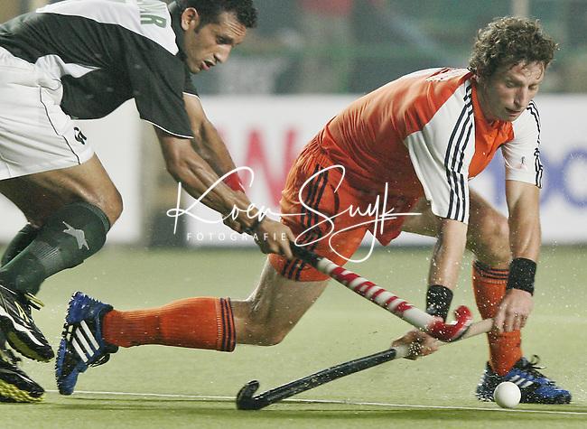 CHENNAI-Champions Trophy hockey mannen. Ronald Brouwer,zaterdag tijdens de wedstrijd Nederland-Pakistan. ANP PHOTO KOEN SUYK