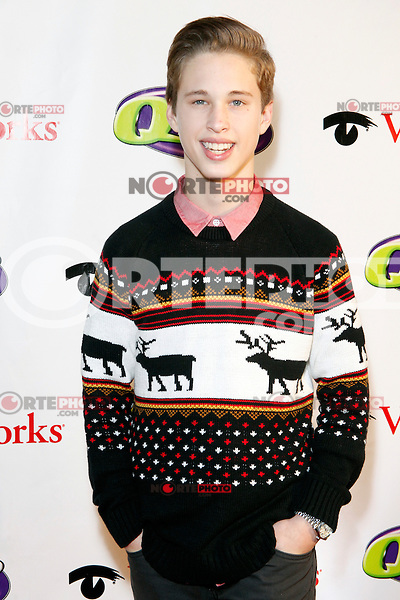 PHILADELPHIA, PA - DECEMBER 5 :  Ryan Beatty pictured on the red carpet at Q 102's Jingle Ball 2012 presented by Xfinity at the Wells Fargo Center in Philadelphia, Pa on December 5, 2012  © Star Shooter / MediaPunch Inc /NortePhoto©