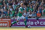 04.09.2018, Hoheellern-Stadion, Leer, GER, FSP, Werder Bremen (GER) vs FC Emmen (NED)<br /> <br /> DFL REGULATIONS PROHIBIT ANY USE OF PHOTOGRAPHS AS IMAGE SEQUENCES AND/OR QUASI-VIDEO.<br /> <br /> im Bild / picture shows<br /> Malte Karbstein (Werder Bremen II #50), <br /> <br /> Foto © nordphoto / Ewert