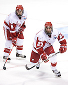 Jeff Likens, Ross Carlson - The University of Wisconsin Badgers defeated the University of Maine Black Bears 5-2 in their 2006 Frozen Four Semi-Final meeting on Thursday, April 6, 2006, at the Bradley Center in Milwaukee, Wisconsin.  Wisconsin would go on to win the Title on April 8, 2006.