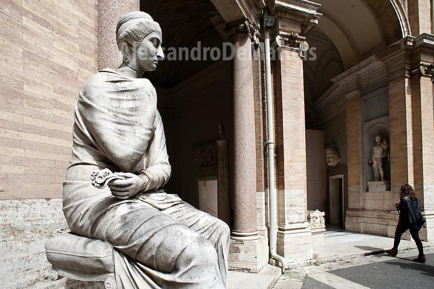 Rome - 2013- Ingresso Musei Vaticani