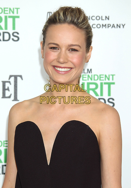 1 March 2014 - Santa Monica, California - Brie Larson. 2014 Film Independent Spirit Awards held at Santa Monica Beach. <br /> CAP/ADM/RE<br /> &copy;Russ Elliot/AdMedia/Capital Pictures