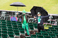 Braving the conditions - these fans in good spirit none the less  during Pakistan vs Sri Lanka, ICC World Cup Cricket at the Bristol County Ground on 7th June 2019