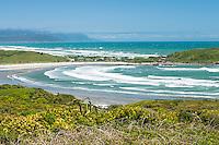 Tauranga Bay as seen from Cape Foulwind near Westport, West Coast, Buller Region, New Zealand