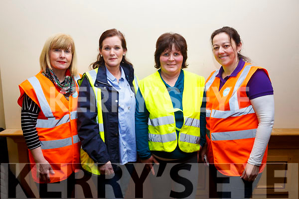 Gemma O'Brien (KDYS), Caroline McGrath (Ballybunion), Mairead O'Neill (Ballybunion) and Nicola O'Sullivan (KDYS) enjoying the KYDS Disco in the Brandon Hotel on Friday night last.