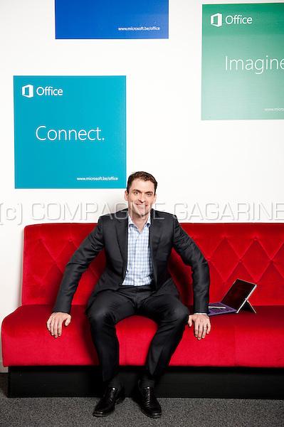 Micheal Beal, CEO of Microsoft Belgium (Belgium, 09/09/2014)