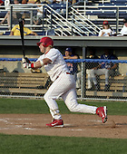 July 12, 2004:  Jason Crosland of the Batavia Muckdogs, Short-Season Single-A affiliate of the Philadelphia Phillies, during a game at Dwyer Stadium in Batavia, NY.  Photo by:  Mike Janes/Four Seam Images