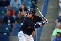 Tampa Yankees first baseman Matt Snyder (29) at bat during a game against the Daytona Tortugas on April 24, 2015 at George M. Steinbrenner Field in Tampa, Florida.  Tampa defeated Daytona 12-7.  (Mike Janes/Four Seam Images)