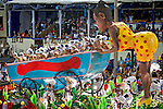 Desfile de carnaval. Sambodromo Rio de Janeiro. 2012. Foto de Cris Berger.