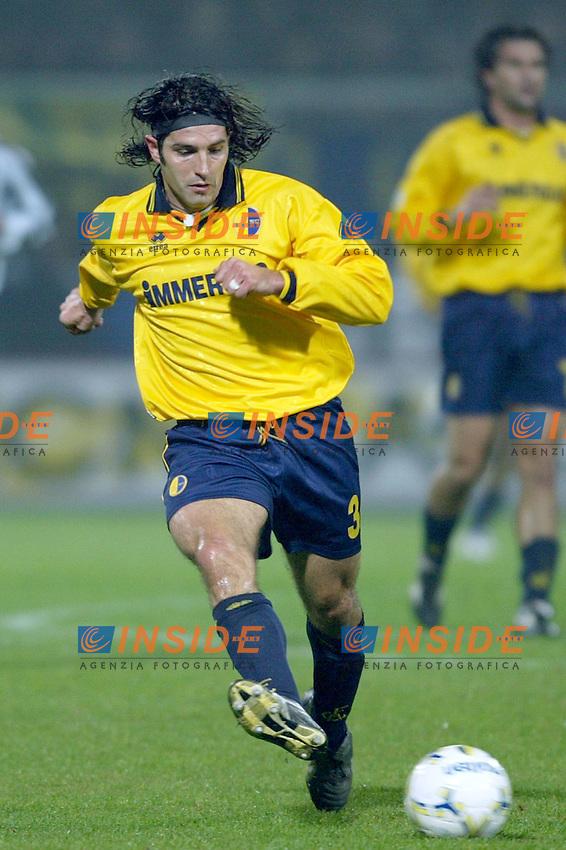 Modena 22/11/2003 <br /> Modena Juventus 0-2 <br /> Jacopo Balestri (Modena)<br /> Foto Andrea Staccioli Insidefoto