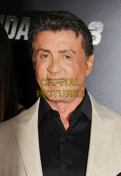 HOLLYWOOD, CA- AUGUST 11: Actor Sylvester Stallone arrives at the Los Angeles premiere of 'The Expendables 3' at TCL Chinese Theatre on August 11, 2014 in Hollywood, California.<br /> CAP/ROT/TM<br /> &copy;Tony Michaels/Roth Stock/Capital Pictures