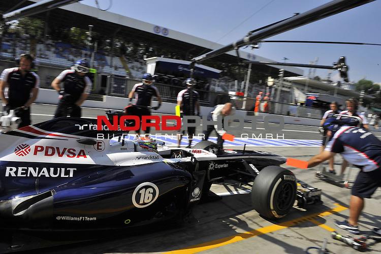 05.-08.09.2011, Autodromo Nationale, Monza, ITA, F1, Grosser Preis von Italien, Monza, im Bild  Pastor Maldonado (VEN) Williams GP <br />  Foto &copy; nph / Mathis
