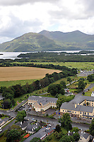 An aerial view of  The Riverside Hotel in Killarney in County Kerry<br /> Photo Don MacMonagle<br /> e: info@macmonagle.com