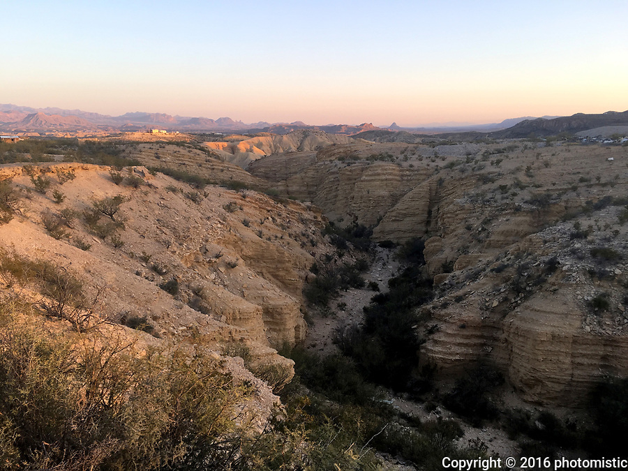 sunset from Terlingua