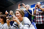 PENSACOLA, FL - DECEMBER 09: Concordia University, St. Paul fans photograph players during the Division II Women's Volleyball Championship held at UWF Field House on December 9, 2017 in Pensacola, Florida. (Photo by Timothy Nwachukwu/NCAA Photos via Getty Images)