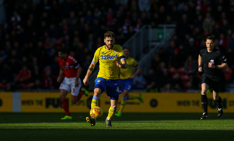 Leeds United's Mateusz Klich in action<br /> <br /> Photographer Alex Dodd/CameraSport<br /> <br /> The EFL Sky Bet Championship - Middlesbrough v Leeds United - Saturday 9th February 2019 - Riverside Stadium - Middlesbrough<br /> <br /> World Copyright © 2019 CameraSport. All rights reserved. 43 Linden Ave. Countesthorpe. Leicester. England. LE8 5PG - Tel: +44 (0) 116 277 4147 - admin@camerasport.com - www.camerasport.com