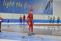 SCHAATSEN: SALT LAKE CITY: Utah Olympic Oval, 12-11-2013, Essent ISU World Cup, training, Thijsje Oenema, ©foto Martin de Jong
