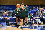 DURHAM, NC - NOVEMBER 05: Alaska Anchorage's Hannah Wandersee. The Duke University Blue Devils hosted the University of Alaska Anchorage Seawolves on November 5, 2017 at Cameron Indoor Stadium in Durham, NC in a Division I women's college basketball preseason exhibition game. Duke won the game 87-56.
