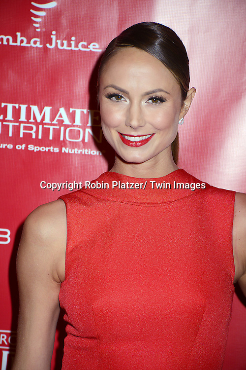 Stacy Keibler attends the Shape &amp; Men's Fitness Super Bowl Party at <br /> Cipriani 42nd Street in New York City on January 31, 2014