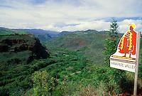 Lush Hanapepe valley, Kauai