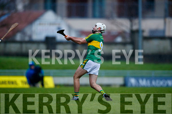 Dathi Griffin Kerry  in action against  Cork in the Co-op Superstores Munster Senior Hurling League on Sunday 14th January in Austin Stack Park, Tralee.
