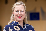 BRUSSELS - BELGIUM - 16 June 2020 -- Jutta Urpilainen (Fin), EU-Commissioner for International Partnerships, in front of the Berlaymont building, the headquarters of the the European Commission.— PHOTO: Juha ROININEN / EUP-IMAGES