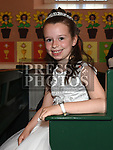 Aisling Foley who received first holy communion in St Joseph's church Mell. Photo:Colin Bell/pressphotos.ie