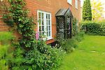 Property Released early nineteenth century red brick detached village house and garden, Shottisham, Suffolk, England, UK